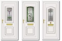 Decorative Upvc Doors