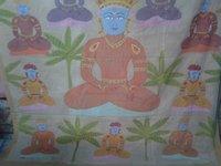 Pichwai Paras Nath Ji Cloth Painting