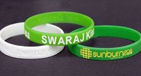 Promotional Rubber Wristbands