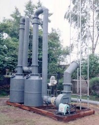 Graphite Falling Film And Packed Gas Scrubbers