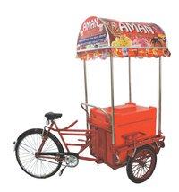 Push Cart Ice Cream Freezer Trolley
