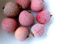 Frozen Lychees