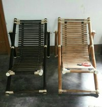 Bamboo Folding Arm Chair