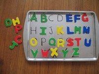 Abc Toy Tray Preschool Educational Creative Learning