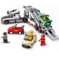 Little Engineer - Racer Building Blocks Educational Game