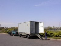 Container Box Type Trailer
