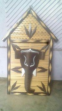 Wall Hanging House Elephant Head