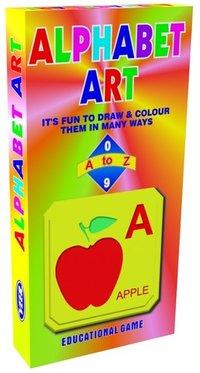 Alphabet Art Jr Educational Preschool Toy