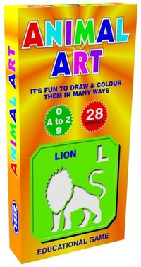 Animal Art Jr Educational Preschool Toy