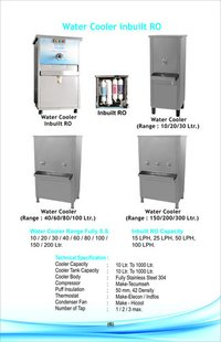 Water Cooler With Inbuilt Ro