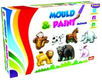 Mould And Paint Animals Diy Creative Painting