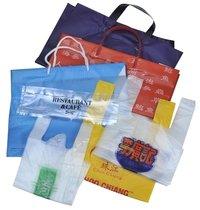 Plastic Die Cut Handle Bags