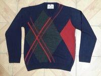 Men'S Intarshia-Jacquard Sweater