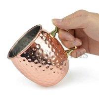 Hammered Copper Mug