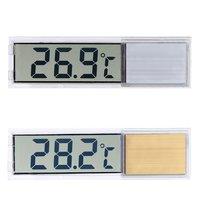 Mini Transparent Thermometer Digital Led Temperature Meter