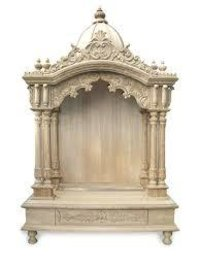 Latest Design Handcrafted Wooden Temple