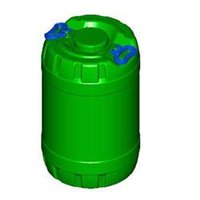 50 Litre Round Container