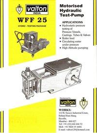 Motorised Hydraulic Pressure Test Pump
