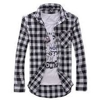 Men'S Casual Check Shirts