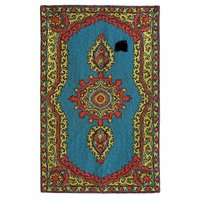 Chain Stitch Embroidery Rugs