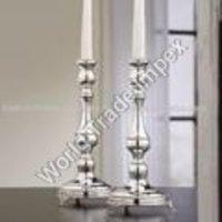 Aluminium Metal Candle Stands