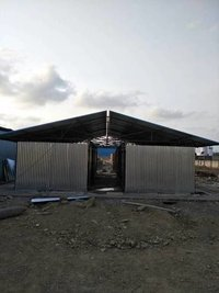 Structural Steel Roof Sheds