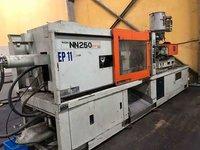 Used Nigata 250 Plastic Injection Moulding Machines