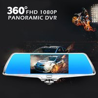 360 Degree Panoramic Dual Lens Car Camera Video Recorder