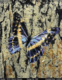 Durable Butterfly Handmade Rugs
