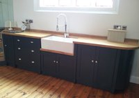 Painted Free Standing Kitchen Belfast Sink Unit