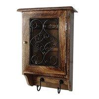 Handmade Wooden Key Cabinet