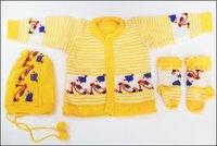 New Born Woolen Baby Suit
