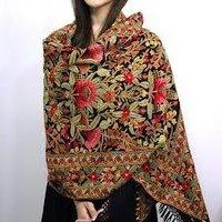 Embroidered Pashmina Shawls
