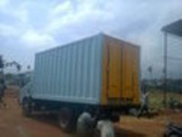 Refrigerated Milk Van Containers