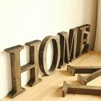 Handmade Wooden Alphabets