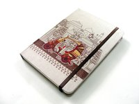 Majestic Series Small Fabric Notebooks
