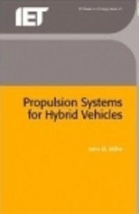 Propulsion Systems For Hybrid Vehicles, 2nd Edition