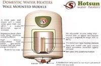Domestic Water Heater Wall Mounted Model