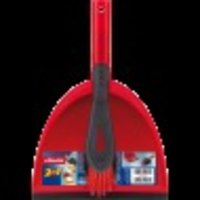 Short Handle Dust Pan with Brush