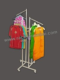 Four Way Display Racks For Ladies Garments