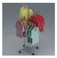 Four Way Display Racks For Shirts And T-Shirts