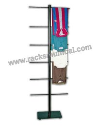 Tree Stand For Garments And Fabric Display