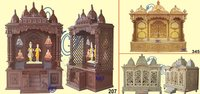 Wooden Handicraft Temples