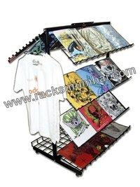 Slant Tray Racks For Shirt And T-Shirt