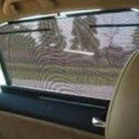 Car Rear Manual Sunshades