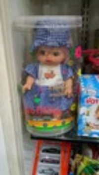 Lightweight Plastic Baby Doll