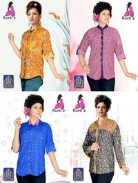 Cute Lady Rayon Shirts