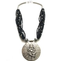 Vinnis Ganesha Acrylic Artificial Jewellery