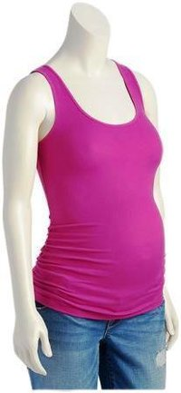 Pink Maternity Tank Top