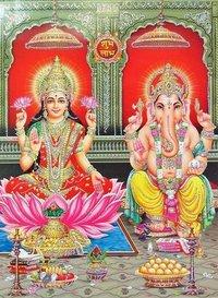 Laxmi Ganesh Posters Painting